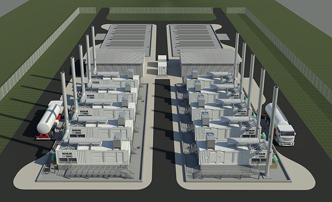 Centrale SDMO de produccion de energia