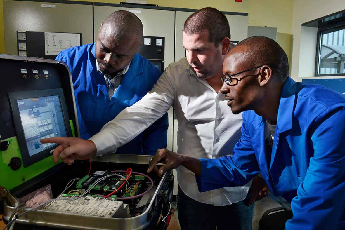 Maintenance training for generating sets and energy stations