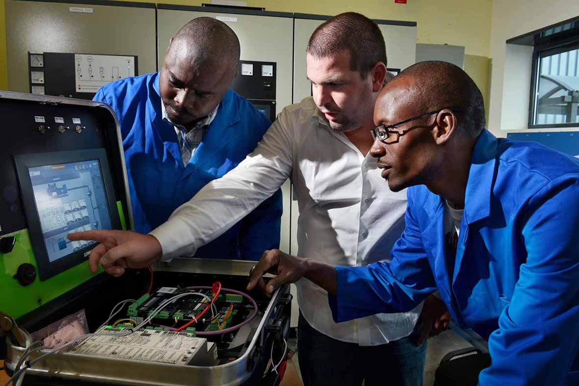 Formation en maintenance de groupes électrogènes et centrales de production d'énergie