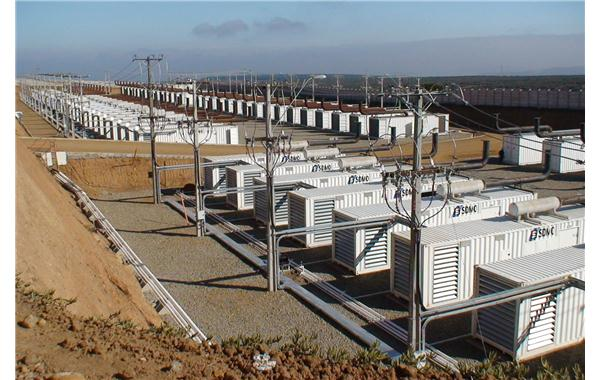 Industrial power generating sets in containers