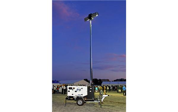 SDMO Rental Power lighting mast