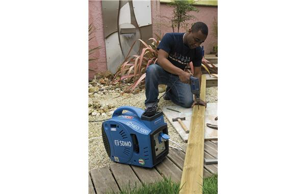 DIY using an SDMO portable generating set
